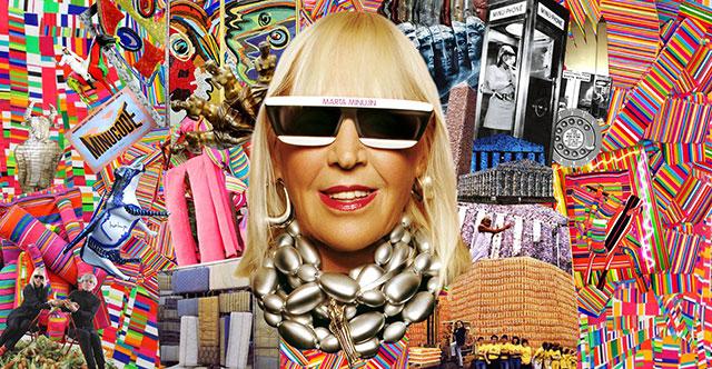Lollapalooza Argentina: Marta Minujín y más artistas plásticos participan en esta edición