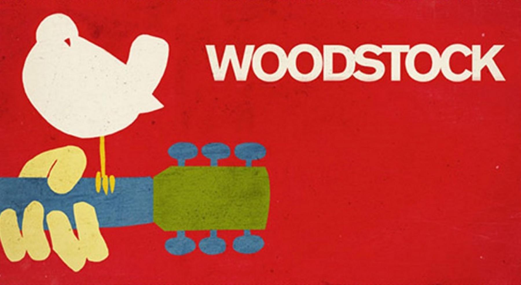 En duda celebración del Festival Woodstock