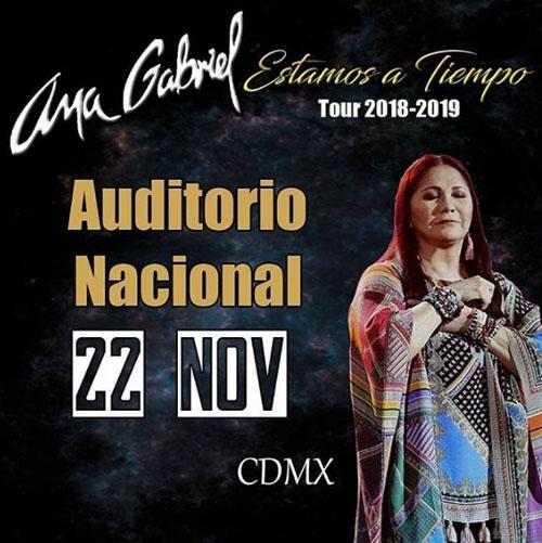 Ana Gabriel en México