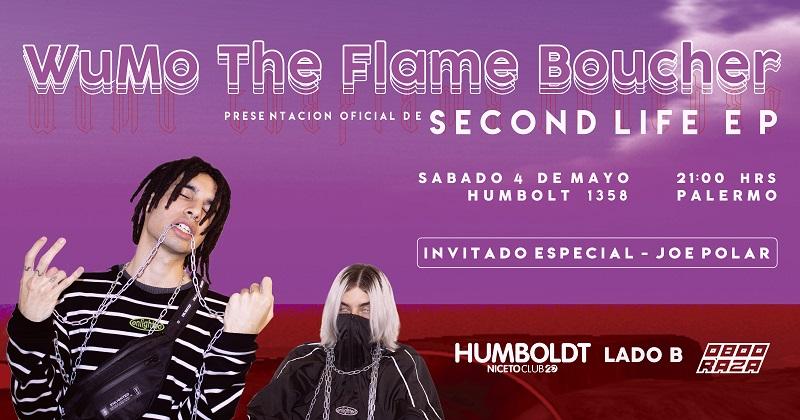 WuMo, The Flame Boucher & Joe Polar en Niceto Lado B