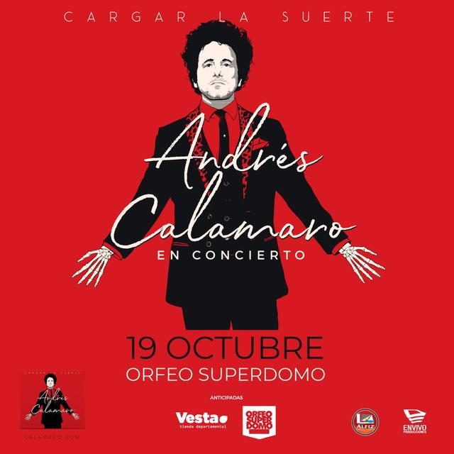 Andrés Calamaro en Córdoba