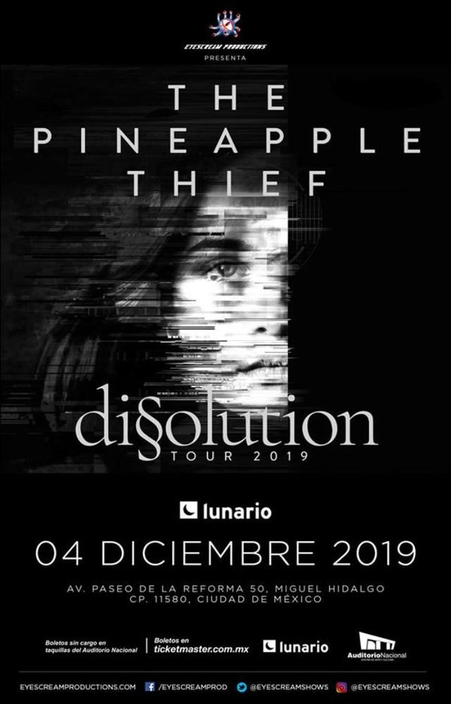 The Pineapple Thief en Ciudad de México