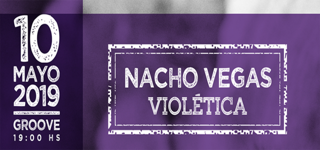 Nacho Vegas en Groove