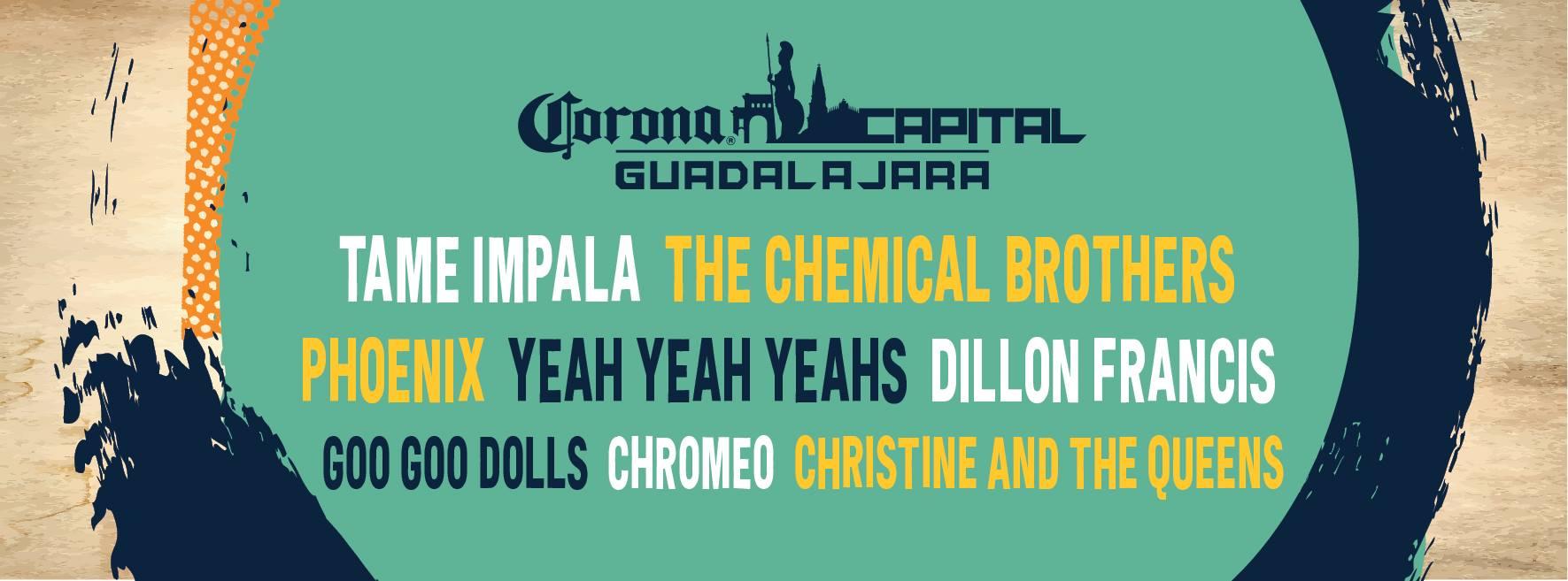 corona capital festival lineup