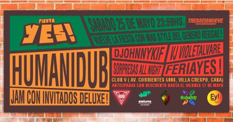 Fiesta YES! en Club V