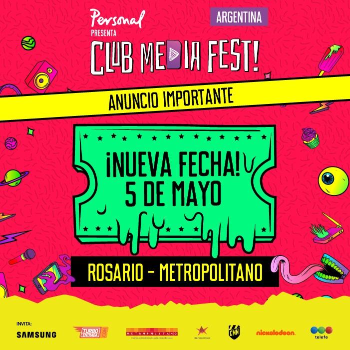 Club Media Fest en Rosario