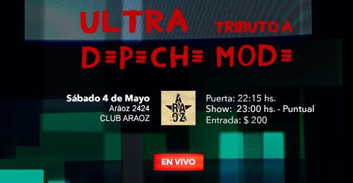 Ultra Tributo a Depeche Mode