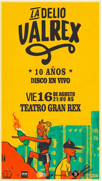 La Delio Valdez en el Teatro Gran Rex