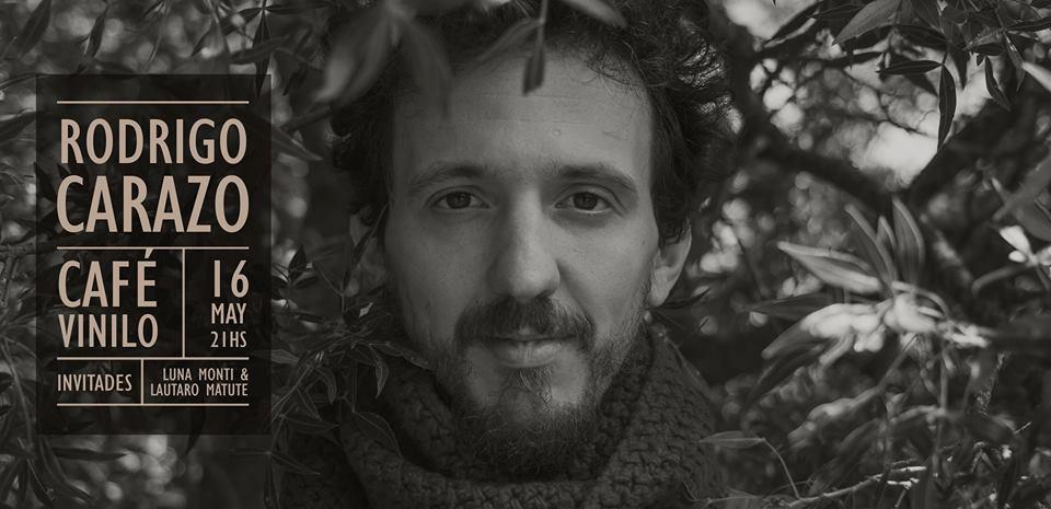 Rodrigo Carazo en Café Vinilo