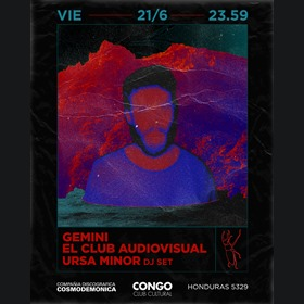 Gemini y El Club Audiovisual en Congo Bar