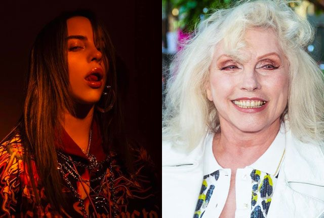Billie Eilish y Debbie Harry hablaron a favor del aborto legal
