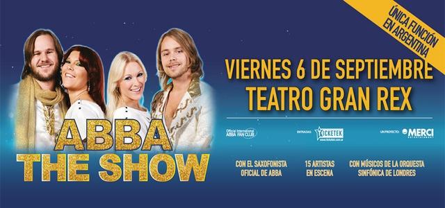 ABBA en Teatro Gran Rex