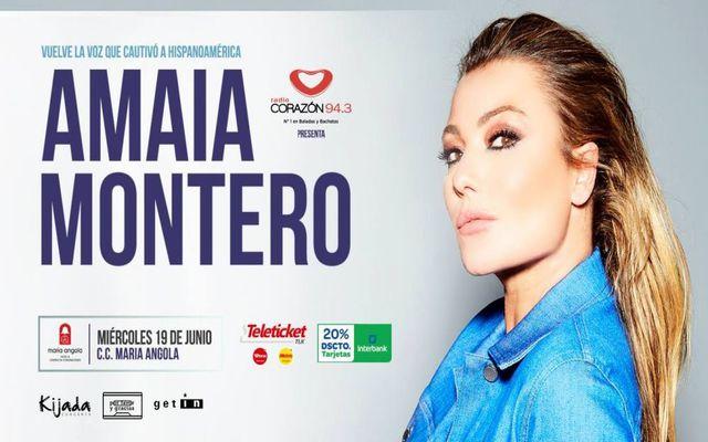 Amaia Montero en Perú