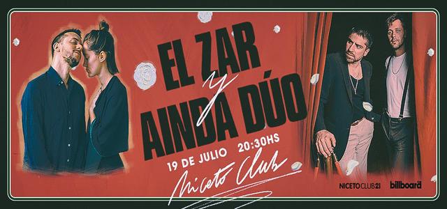 El Zar y Ainda Dúo en Niceto Club