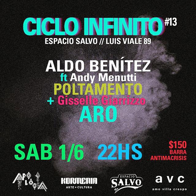 Ciclo Infinito: Aldo Benítez, Poltamento y ARO