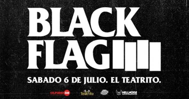Black Flag en El Teatrito
