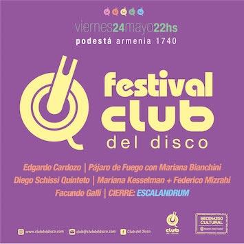 Festival Club del Disco en Podestá