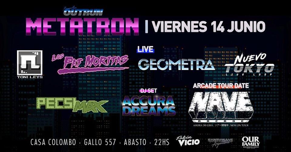 Festival Buenos Aires Outrun Metatron VI