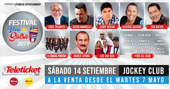 Festival Viva la Salsa 2019 en Perú