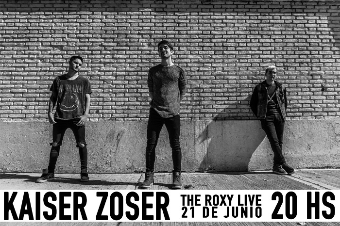 Kaiser Zoser en The Roxy