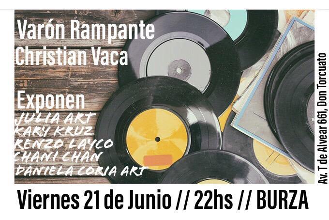 Varon Rampante + Christian Vaca en Don Torcuato