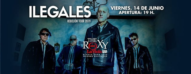 Ilegales en The Roxy La Viola Bar