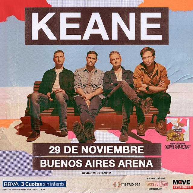 Keane en Buenos Aires Arena