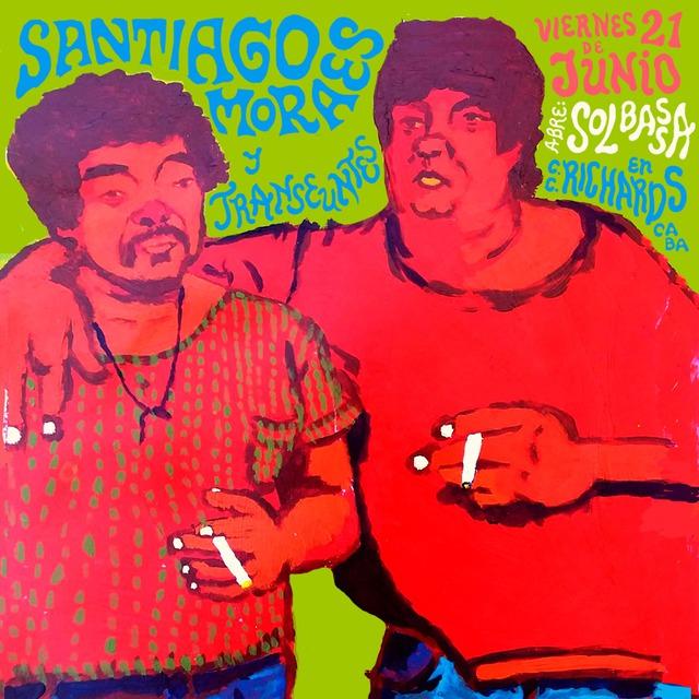 Santiago Moraes y Transeúntes en Centro Cultural Richards