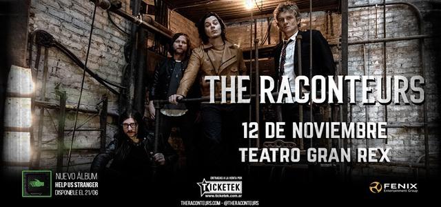 The Raconteurs en el Teatro Gran Rex