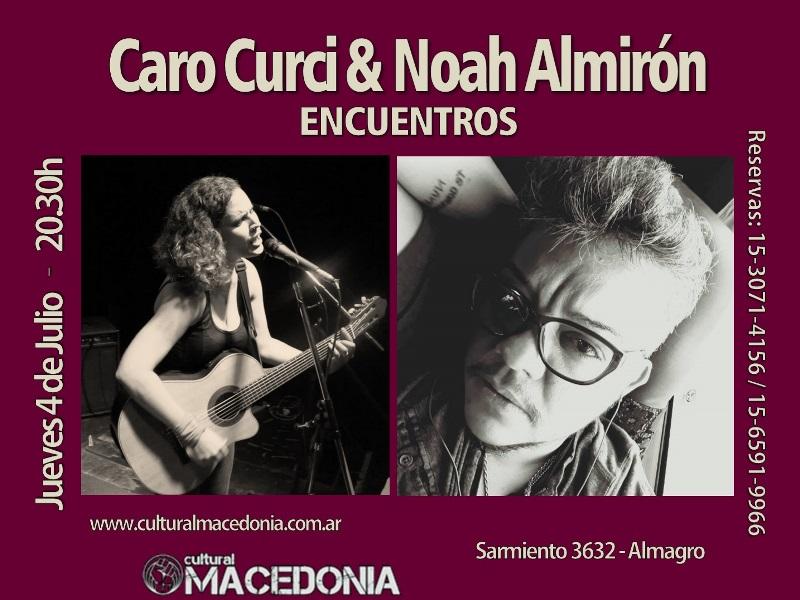 ENCUENTROS: Caro Curci & Noah Almirón en Centro Cultural Macedonia