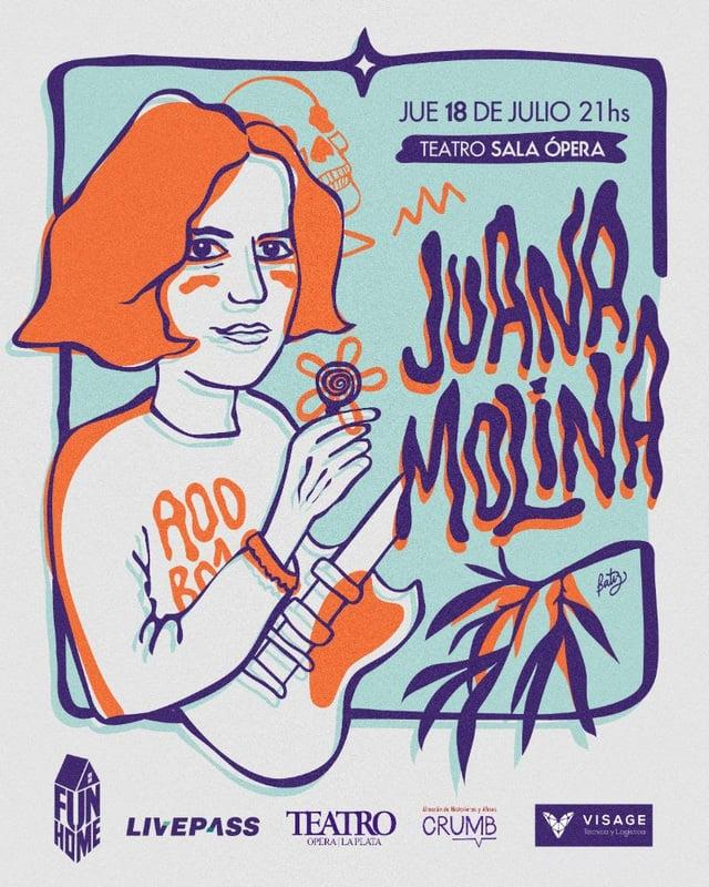 Juana Molina en La Plata