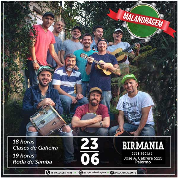 Malandragem en Birmania Bar