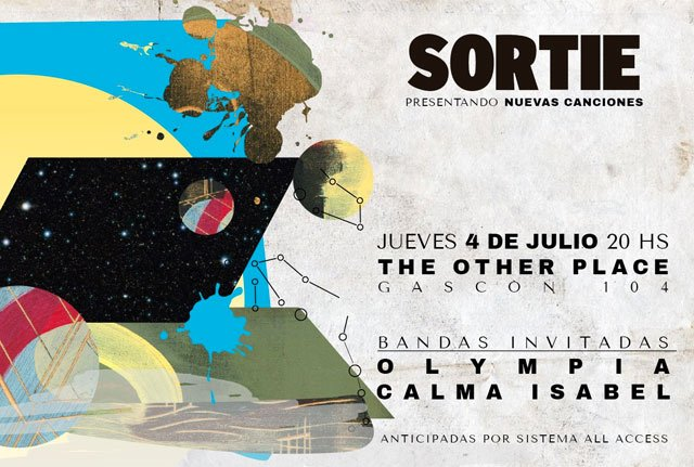 Sortie en The Other Place