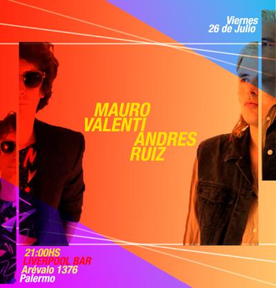Mauro Valenti y Andres Ruiz en Liverpool Bar