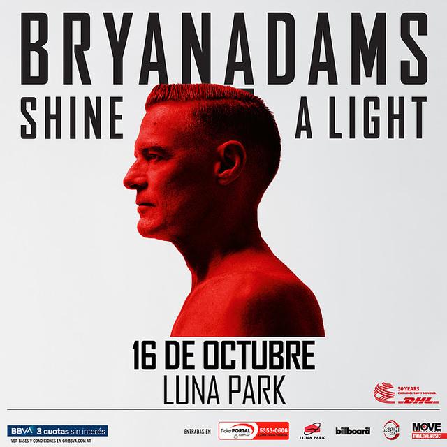 Bryan Adams en el Luna Park