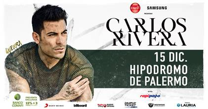 Carlos Rivera en el Hipódromo de Palermo
