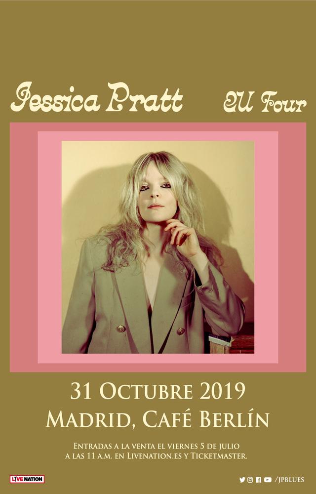 Jessica Pratt en Madrid