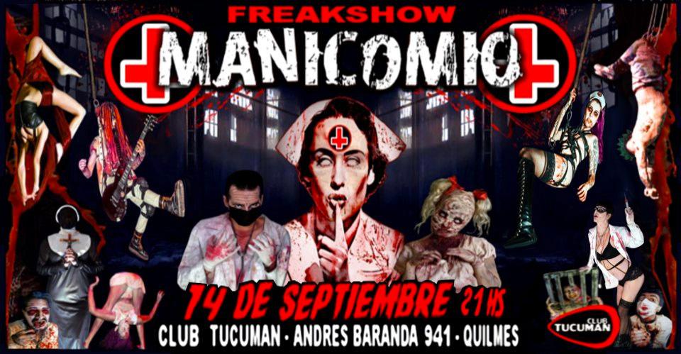 Manicomio Freakshow en Quilmes
