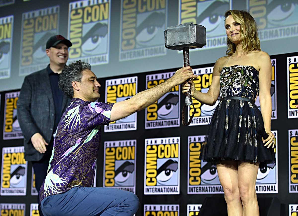 Thor: Love and Thunder Natalie Portman Taika Waititi Mighty Thor