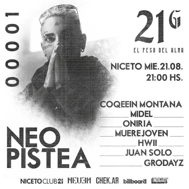 21 G en Niceto Club