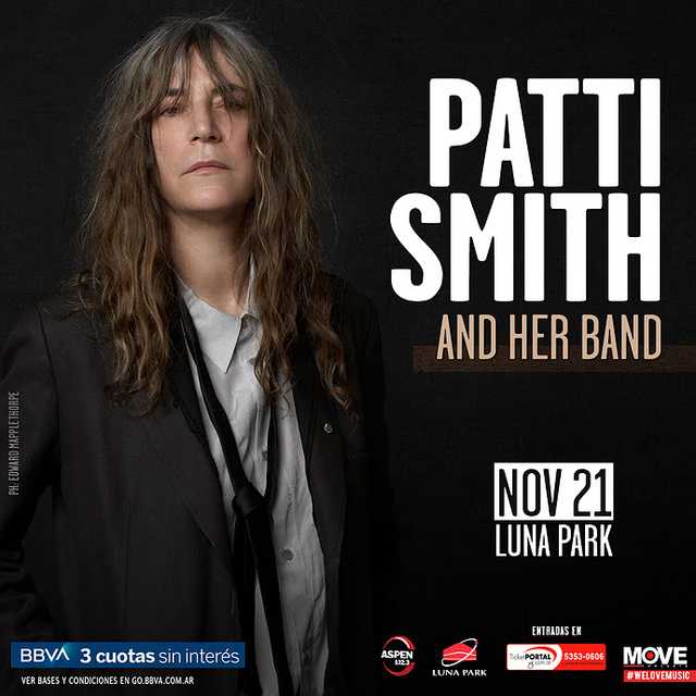 Patti Smith en el Luna Park