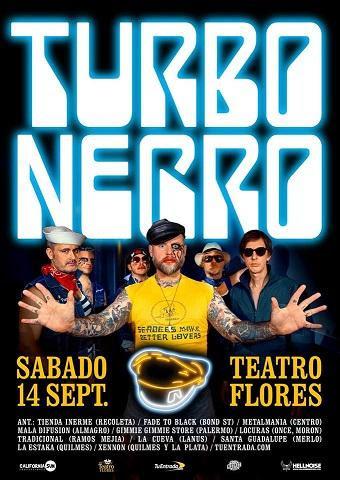 Turbonegro en El Teatro Flores