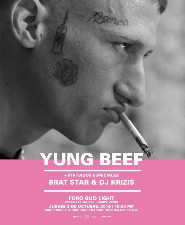 Yung Beef en México