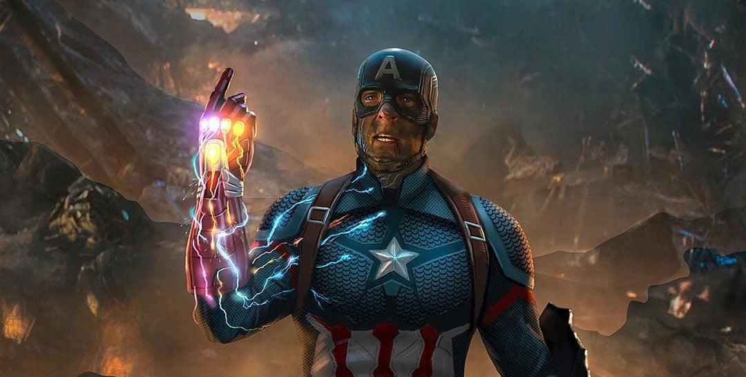 Avengers: Endgame: Así se vería Capitán América si él hubiese hecho el  chasquido