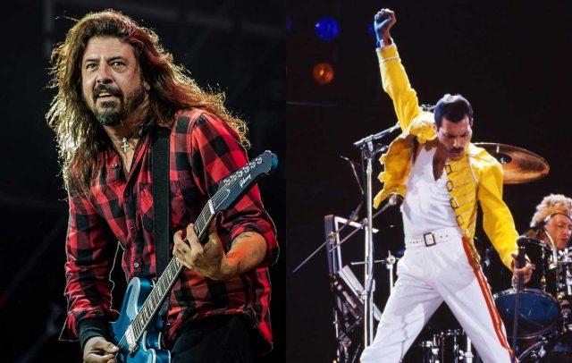 """Foo Fighters versiona""""Under Pressure"""" junto a un doble de Freddie Mercury"""