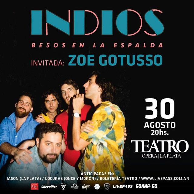 Indios en La Plata