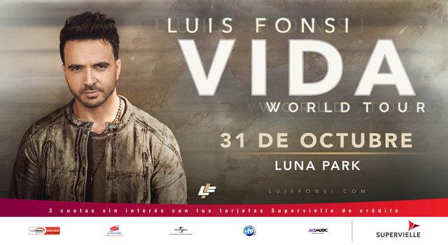 Luis Fonsi en el Luna Park