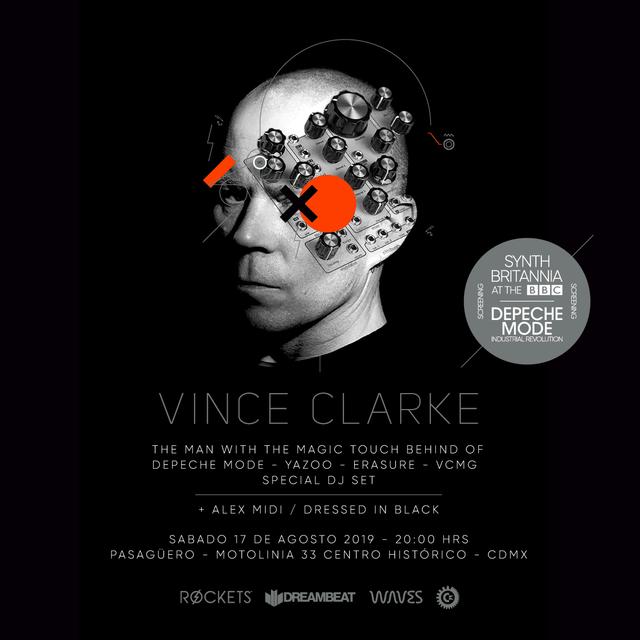 Vince Clarke en México