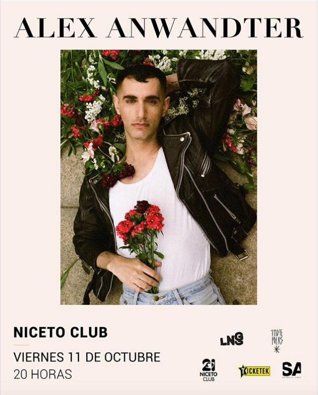 Alex Anwandter en Niceto Club