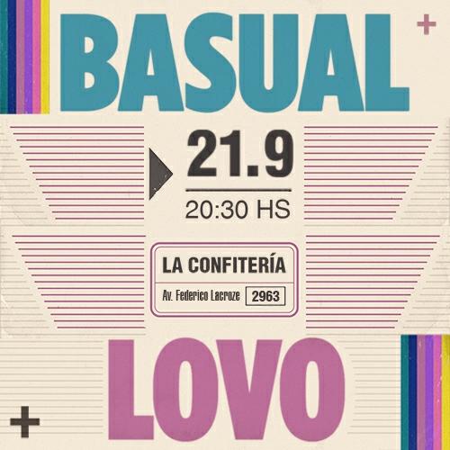 Basual + Lovo en La Confitería